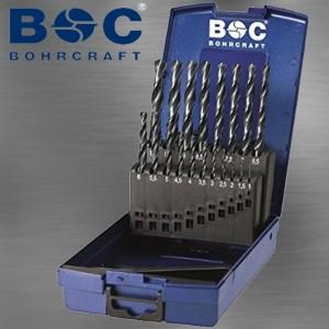 Spiralbohrersatz rollgewalzt 1,0 bis 13 mm 0,5 mm steigend 25 tlg in ABS Box
