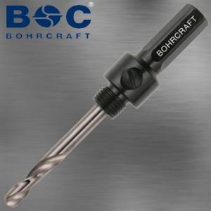 Lochsägen Aufnahme mit SDS-plus Aufnahme für Lochsägen von 14 mm bis 30 mm