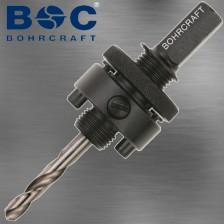 Lochsägen Aufnahme mit SDS-plus Aufnahme fuer Lochsägen von 32 mm bis 210 mm